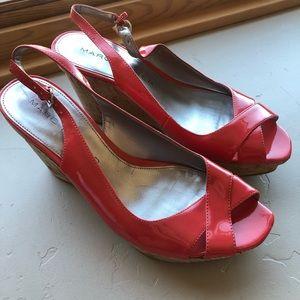 Marc Fisher wedge heels
